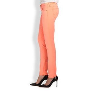 AG neon skinny jeans
